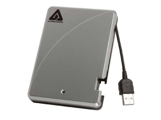 APRICORN 160GB Aegis Portable External Hard Drive USB 2.0 Model A25-USB-160