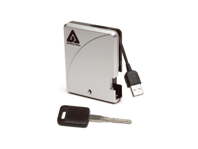 APRICORN Aegis Mini 80GB USB 2.0 External Hard Drive A18-USB-80
