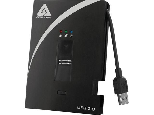 APRICORN Aegis Bio 750GB USB 3.0 External Hard Drive