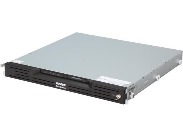 BUFFALO TeraStation III 4-Bay 8 TB (4 X 2 TB) RAID 1U Rack Mountable Network Attached Storage (NAS) - TS-RX8.0TL/R5