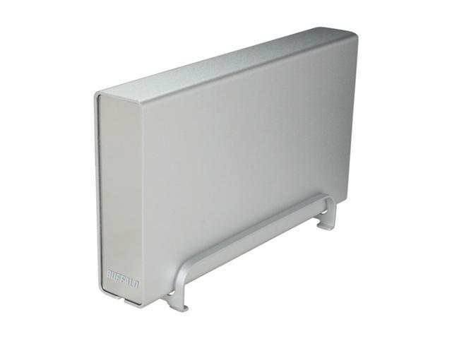 "BUFFALO DriveStation Combo 4 2TB USB 2.0 / Firewire400 / Firewire800 / eSATA 3.5"" External Hard Drive Silver"