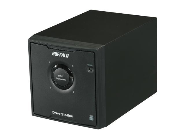 BUFFALO HD-QL8TU3R5 8TB (4 x 2TB) DriveStation Quad USB 3.0 Four-drive storage