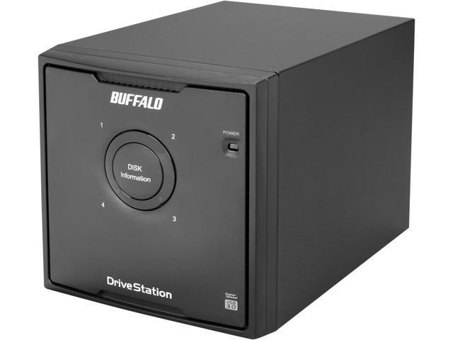BUFFALO DriveStation Quad 4-Bay 12 TB (4 x 3 TB) RAID USB 3.0 Desktop Hard Drive - HD-QL12TU3R5