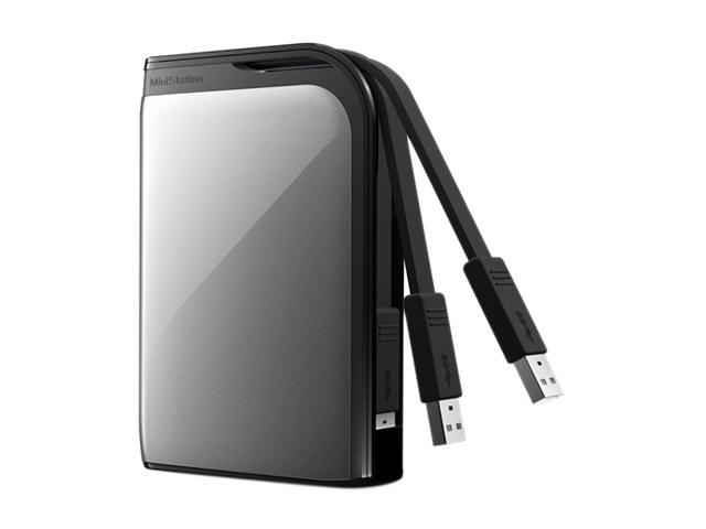 "BUFFALO MiniStation Extreme 500GB USB 3.0 2.5"" External Hard Drive HD-PZ500U3S"