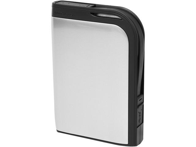 BUFFALO 1TB MiniStation Extreme External Hard Drive USB 3.0 Model HD-PZ1.0U3S Silver