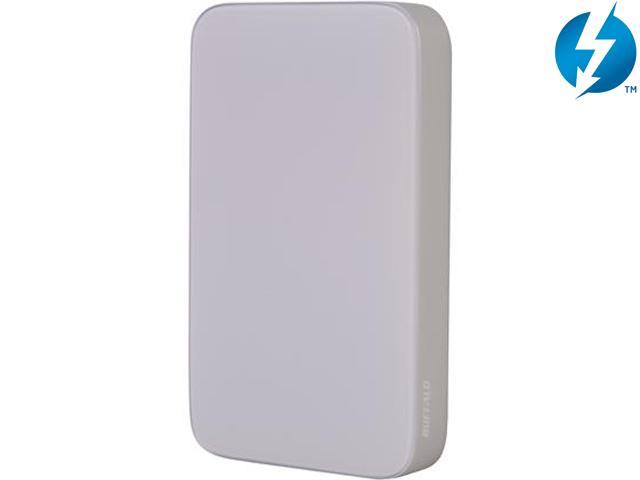 "BUFFALO MiniStation Thunderbolt 1TB 2.5"" USB 3.0 / Thunderbolt Portable Hard Drive Model HD-PA1.0TU3"