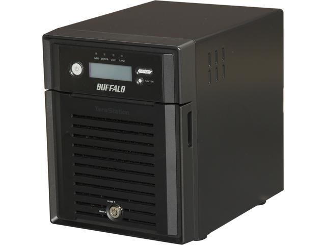 BUFFALO TeraStation 5400 4-Bay 16 TB (4 x 4 TB) RAID NAS & iSCSI Unified Storage - TS5400D1604