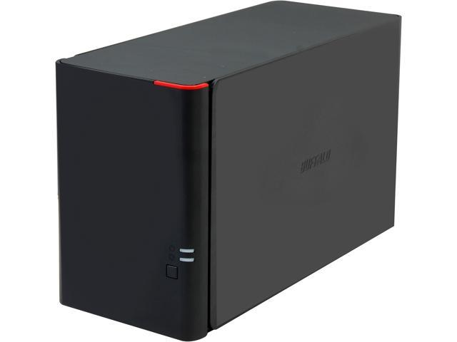 BUFFALO LinkStation 420 (LS420D0602) High Performance RAID NAS Personal Cloud Storage and Media Server