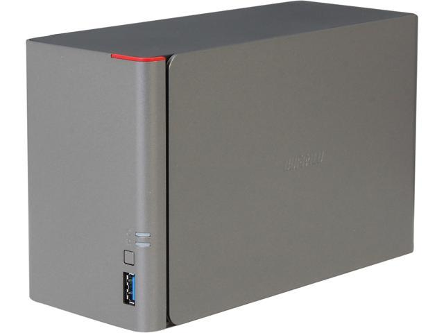 BUFFALO LinkStation 421e Diskless Enclosure High Performance RAID NAS Personal Cloud Storage and Media Server - LS421DE