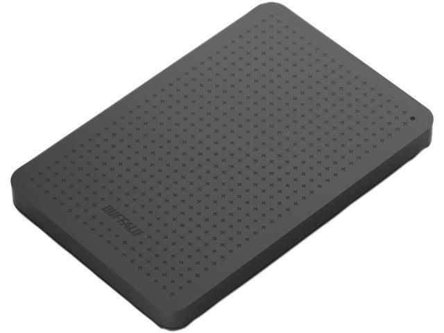 """BUFFALO MiniStation 500GB USB 3.0 2.5"""" External Hard Drive HD-PCF500U3B"""