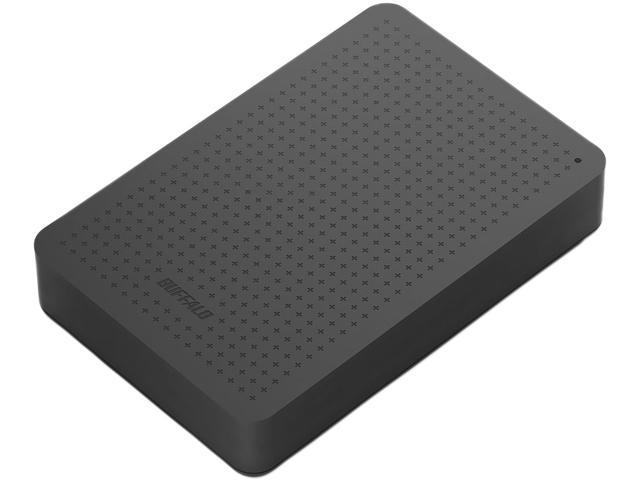 BUFFALO 2TB MiniStation External Hard Drive USB 3.0 Model HD-PCF2.0U3GB Black