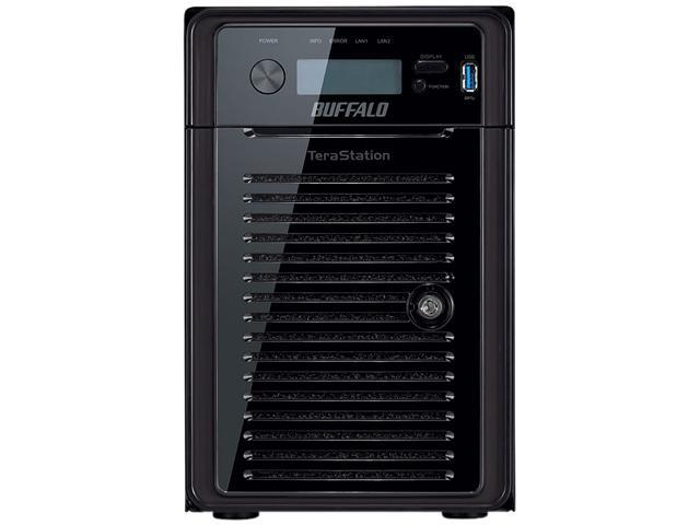 BUFFALO TeraStation 5600 WSS 24 TB 6-Bay (6 x 4 TB) RAID High Performance Windows Storage Server NAS & iSCSI Unified Storage - WS5600D2406