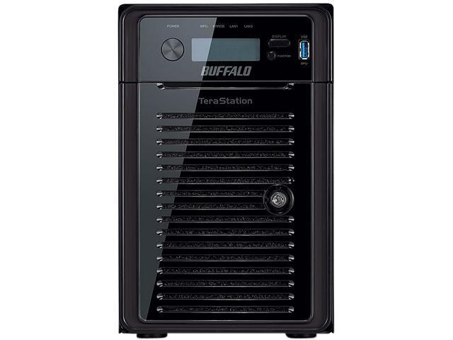 BUFFALO TeraStation 5600 WSS 12 TB 6-Bay (6 x 2 TB) RAID High Performance Windows Storage Server NAS & iSCSI Unified Storage - WS5600D1206