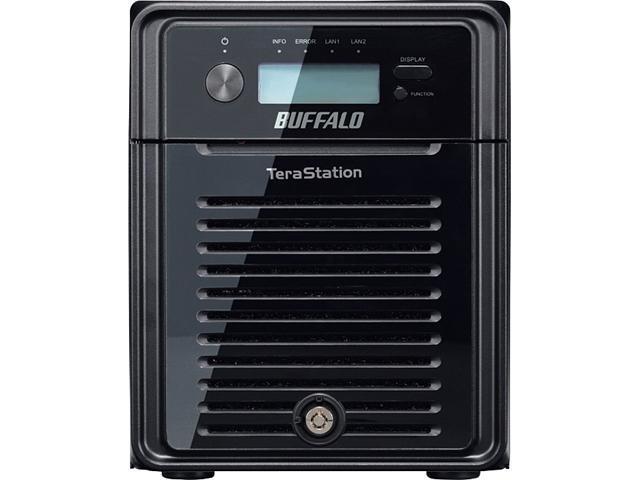 BUFFALO TeraStation 3400 4-Bay 16 TB (4 x 4 TB) RAID NAS & iSCSI Unified Storage - TS3400D1604