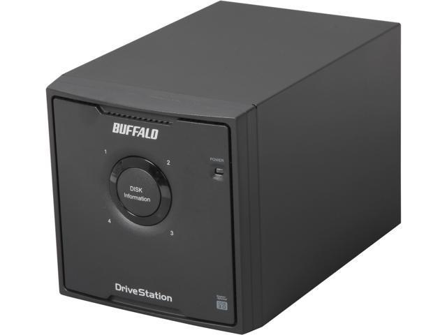 BUFFALO DriveStation Quad 8TB (4 x 2 TB) USB 3.0 High Performance RAID Array with Optimized Hard Drives HD-QH8TU3R5