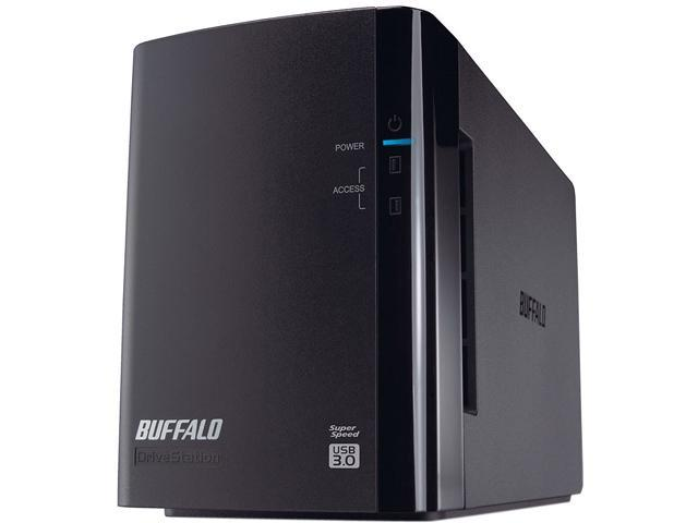 BUFFALO DriveStation Duo 8TB (2 x 4 TB) USB 3.0 High Performance RAID Array with Optimized Hard DrivesHD-WH8TU3R1