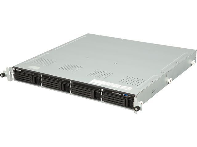 BUFFALO TS1400R0804 TeraStation 1400R Rackmount 4-Bay 8 TB (4 x 2TB) RAID Network Attached Storage