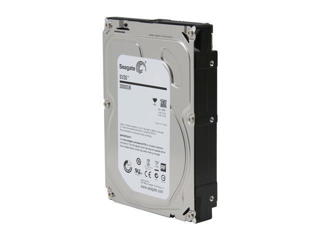 Seagate SV35.5 ST3000VX000-20PK 3TB 7200 RPM 64MB Cache SATA 6.0Gb/s 3.5