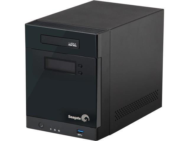 Seagate STBP8000100 8TB Business Storage 4-Bay NAS
