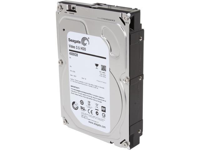 Seagate ST4000VM000 4TB 5900 RPM 64MB Cache SATA 3.5