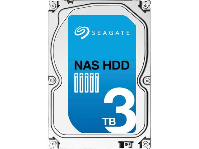 "Seagate NAS HDD ST3000VN000 3TB 64MB Cache SATA 6.0Gb/s 3.5"" NAS HDD"