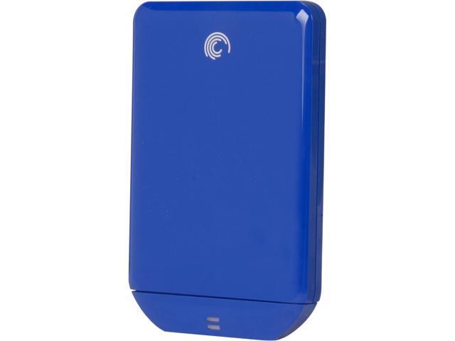 Seagate FreeAgent GoFlex 500GB USB 3.0 Ultra External Portable Hard Drive Blue