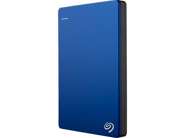 Seagate Backup Plus Slim 1TB USB 3.0 Portable External Hard Drive with Mobile Device Backup - STDR1000102 (Blue)