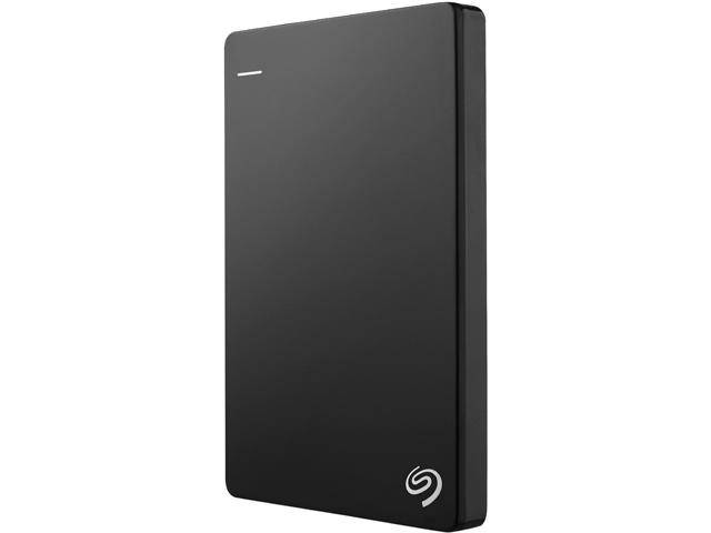 Seagate Backup Plus Slim 2TB Portable External Hard Drive with 200GB of Cloud Storage & Mobile Device Backup USB 3.0 - STDR2000100 (Black)