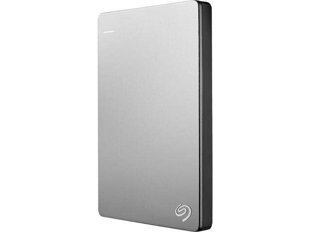Seagate Backup Plus Slim 1TB USB 3.0 Portable External Drive for MAC with Mobile Device Backup - STDS1000100