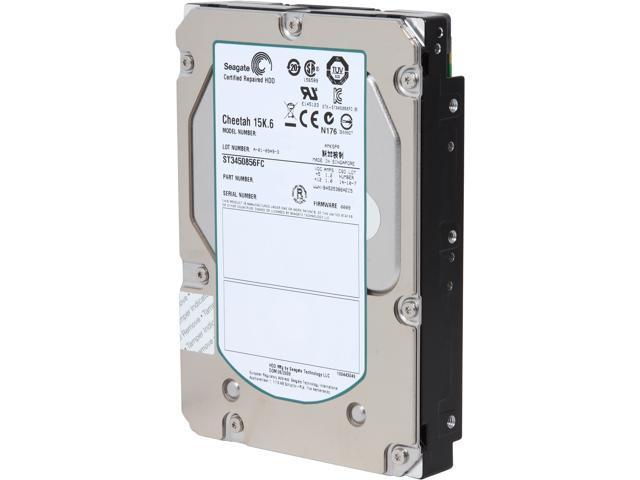 Seagate ST3450856FC-FR 450GB 15000 RPM 16MB Cache Fibre Channel 4Gb/s 3.5