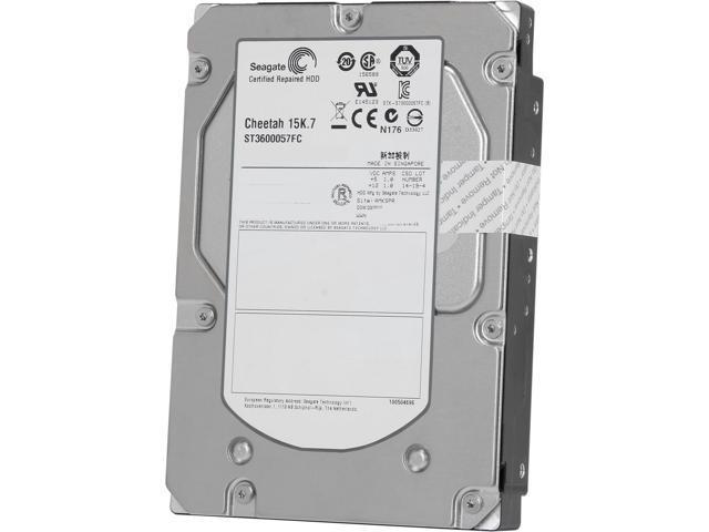Seagate Cheetah ST3600057FC-FR 600GB 15000 RPM 16MB Cache Fibre Channel 4Gb/s 3.5