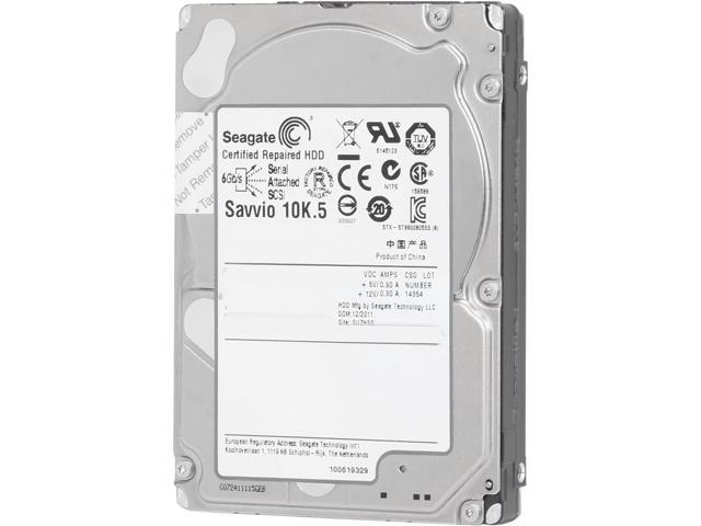 "Seagate Savvio 10K.5 ST9300605SS 300GB 10000 RPM 64MB Cache SAS 6Gb/s 2.5"" Internal Enterprise Hard Drive Bare Drive"