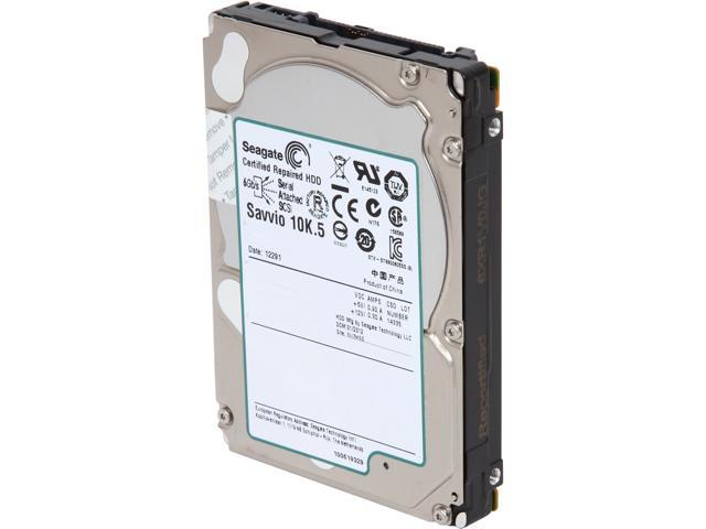 "Seagate Savvio 10K.5 ST9600205SS 600GB 10000 RPM 64MB Cache SAS 6Gb/s 2.5"" Internal Enterprise Hard Drive Bare Drive"