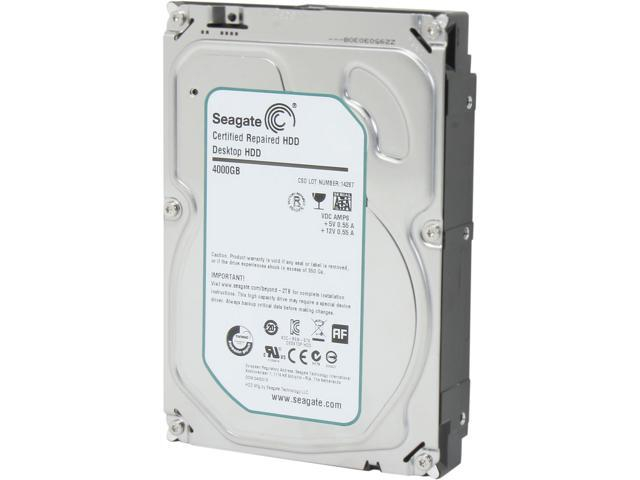 Seagate Desktop HDD.15 ST4000DM000 4TB 64MB Cache SATA 6.0Gb/s 3.5