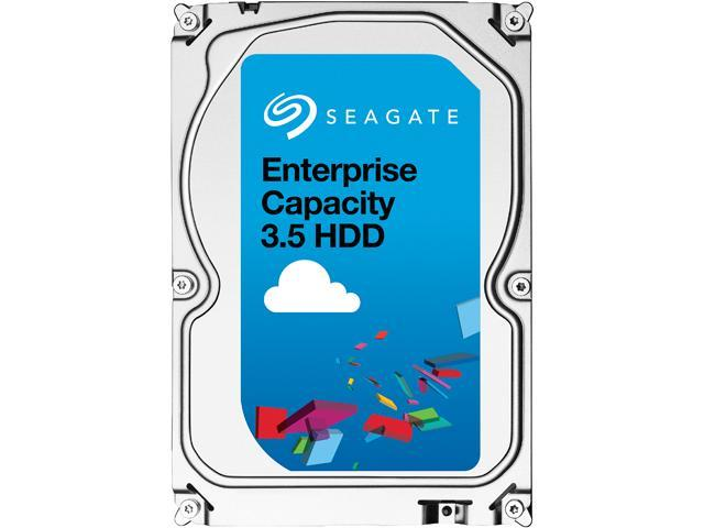 Seagate 6TB Enterprise Desktop Hard Disk Drive - 7200 RPM SAS 12Gb/s 128MB 3.5