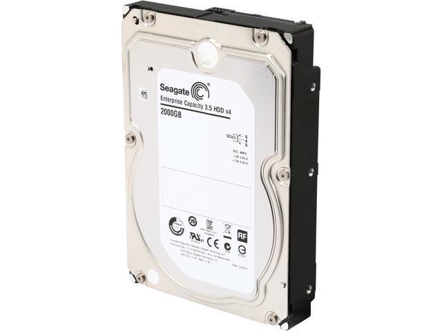 Seagate 2TB Enterprise Desktop Hard Disk Drive - 7200 RPM SAS 12Gb/s 128MB 3.5