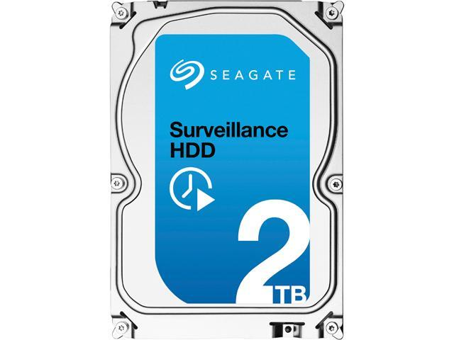 Seagate Surveillance HDD ST2000VX003 2TB 64MB Cache SATA 6.0Gb/s Internal Hard Drive