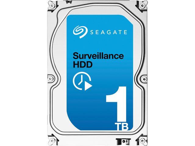 "Seagate Surveillance HDD ST1000VX001 1TB 64MB Cache SATA 6.0Gb/s 3.5"" Internal Hard Drive"