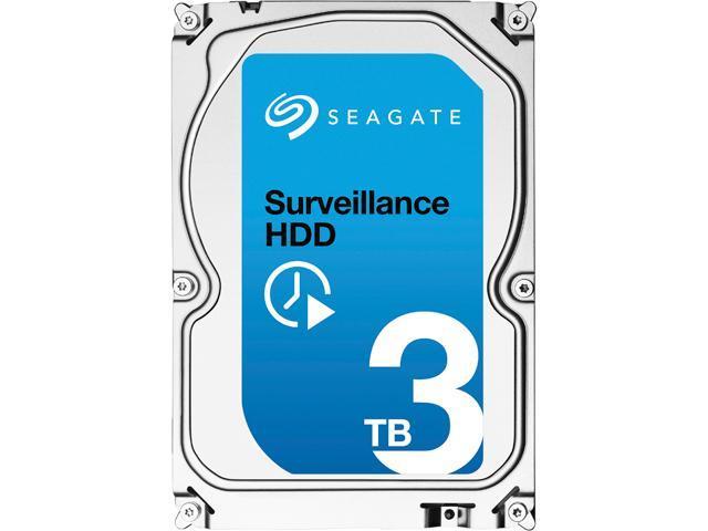 "Seagate SV35 Series ST3000VX006 3TB 64MB Cache SATA 6.0Gb/s 3.5"" Surveillance HDD"