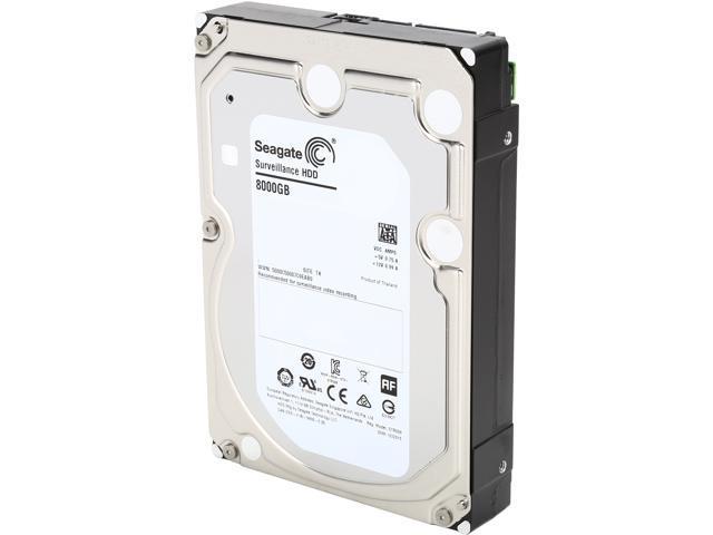 Seagate Surveillance HDD ST8000VX0002 8TB 256MB Cache SATA 6.0Gb/s Internal Hard Drive