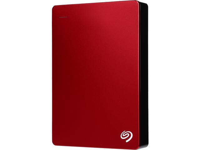 Seagate Backup Plus 4TB USB 3.0 Portable External Hard Drive with Mobile Device Backup Model STDR4000902 (Red)