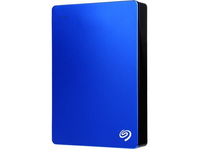 Seagate Backup Plus 4TB USB 3.0 Portable External Hard Drive with Mobile Device Backup Model STDR4000901 (Blue)