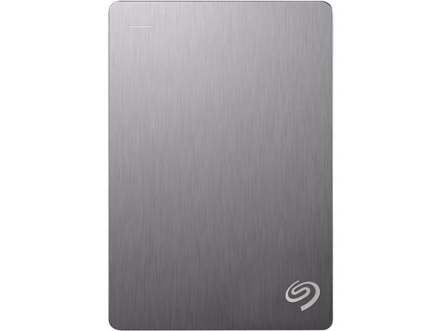 Seagate Backup Plus Slim 4TB Portable External Hard Drive with 200GB of Cloud Storage & Mobile Device Backup USB 3.0 Model ...