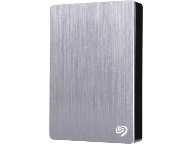 Seagate Backup Plus 4TB USB 3.0 Portable External Hard Drive with Mobile Device Backup Model STDR4000900 (Silver)