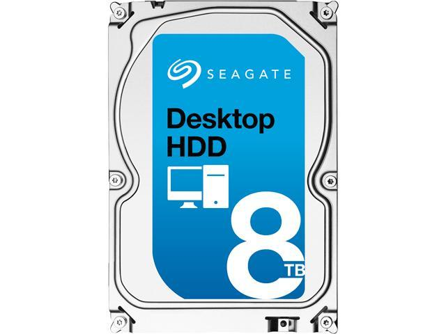 "Seagate Desktop HDD ST8000DM002 8TB 256MB Cache SATA 6.0Gb/s 3.5"" Internal Hard Drive"