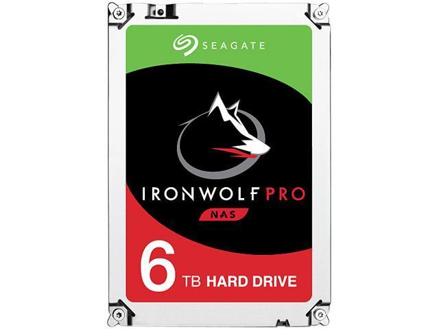 Seagate IronWolf Pro ST6000NE0021 6TB 7200 RPM 256MB Cache SATA 6.0Gb/s 3.5