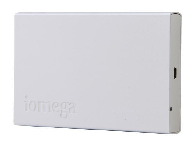 "iomega Helium 500GB USB 2.0 2.5"" Portable Hard Drive Silver"