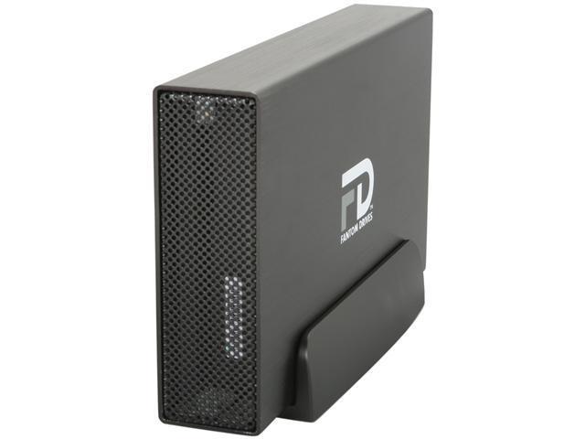 Fantom Drives G-Force3 3TB USB 3.0 Aluminum Desktop External Hard Drive GF3B3000U Black