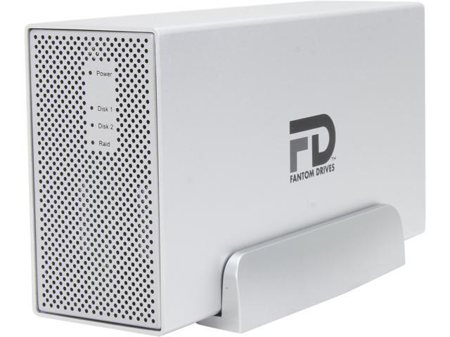 Fantom Drives Gforce3 MegaDisk 4TB USB 3.0/2.0 2x 3.5