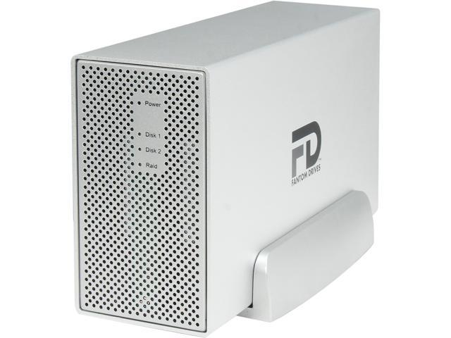 Fantom Drives Gforce3 MegaDisk 6TB USB 3.0/2.0 2x 3.5